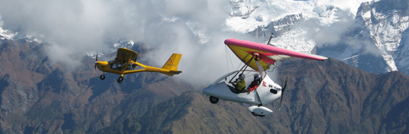 Ultralight Aircraft In Nepal
